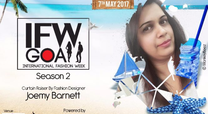 Joemy Barneto Eternity Couture to sizzle in IFW, Goa