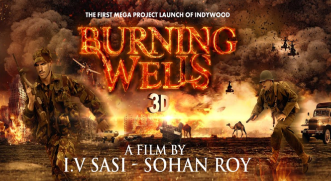 "Anticipation splurge as the Making of ""Burning Wells 3D"" advances"