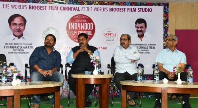 Indywood honours Telugu journalists