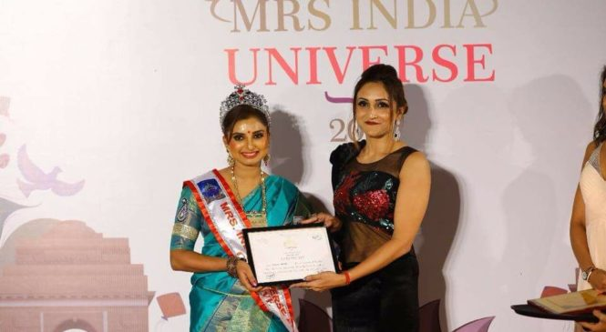 Mrs. India Universe Creative, Sushma Venkat speaks about her success story