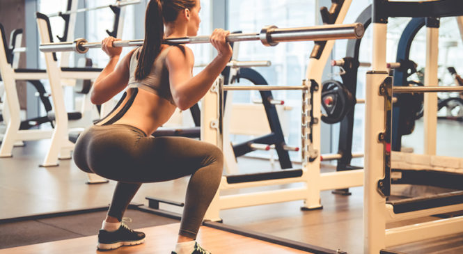 Is squat just an exercise to define your thighs and abdomen?