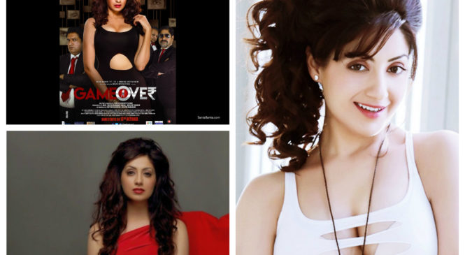 """GURLEEN CHOPRA, star of """"Game Over"""" movie is giving us some fitness motivation"""