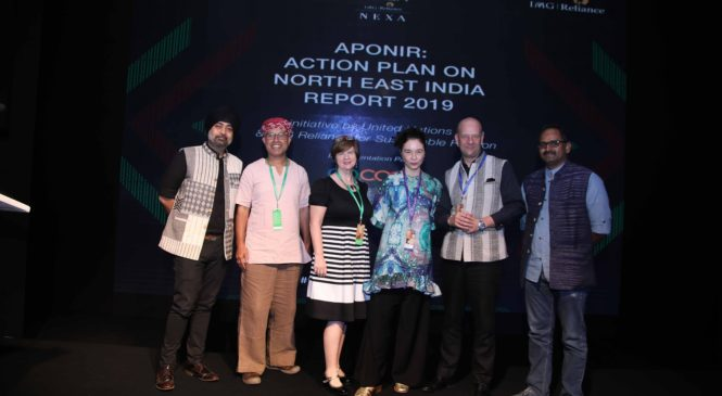 LFW 2018 launched 'Action Northeast' as an initiative for growth of craft & sustainable fashion economy of the Northeast Indian region