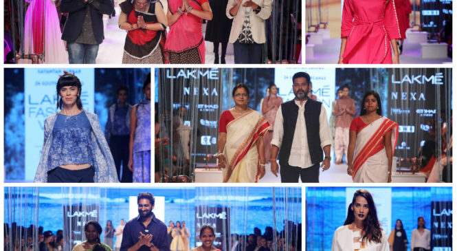 The Usha Silai Project Show was an innovative fashion concept with 4 top designers and Usha Silai Clusters at LFW 2018