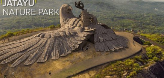 The Mythical bird of Ramayana: getting ready to 'Rock' on Jatayupara..!!