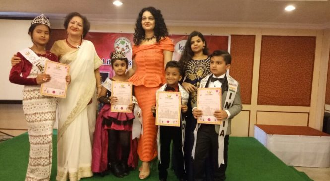 Kids from India dazzle at International Event, 'Little Miss and Master Galaxy 2018'