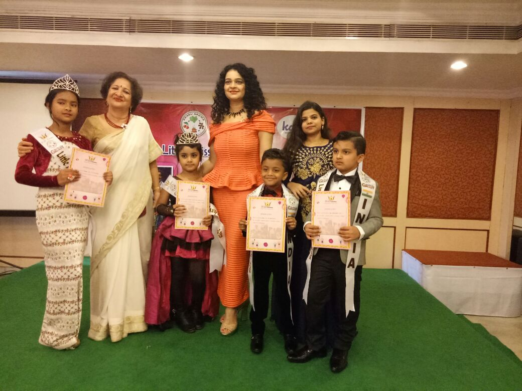 Kids from India dazzle at International Event , 'Little Miss