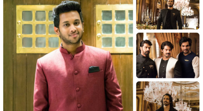 Designer Varun Chakkilam launches menswear as fund raiser for 'Teach For Change'