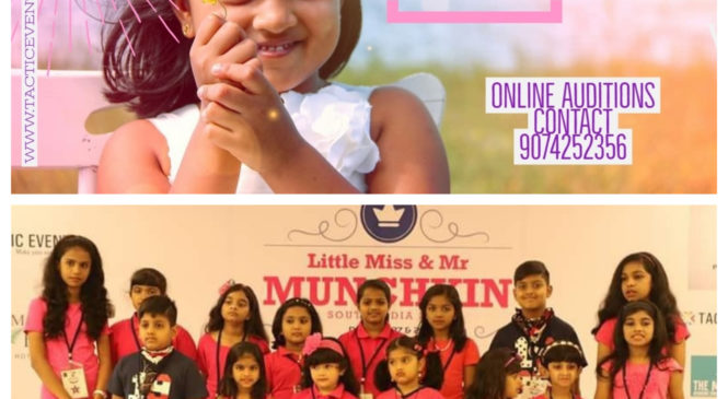 The 2nd edition of Little Miss & Mr Munchkin Supreme Star International all set to enthrall us on november 14th