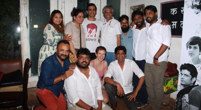 Celebs grace the success bash of the latest webseries Smoke by Hamari Film Company