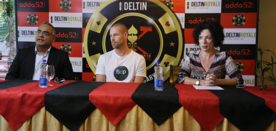 Poker King Patrik Antonius At Delta Corp's 10th Anniversary Celebrations