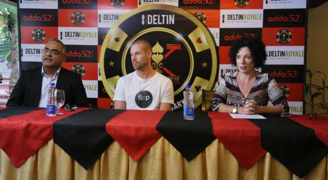 Poker King Patrik Antonius At Delta Corp's 10th Anniversary Celebrations