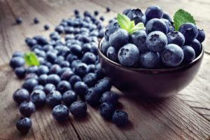 blueberries summer fruits