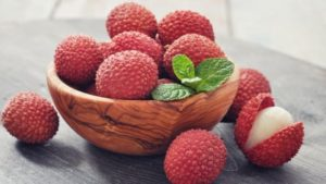 litchi summer fruit