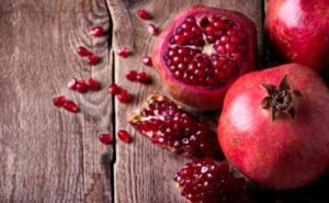 Pomegranate summer fruits
