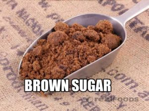 Soft, dark brown sugar